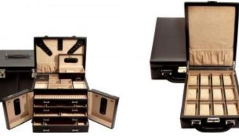 Schmuckkasten und Uhrenbox