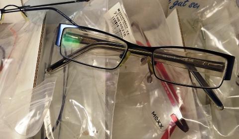 Schmucke Brille für individuellen Look