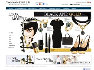 Perlen Kollektion BLACK AND GOLD by Yana Nesper