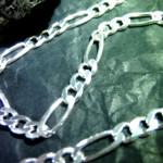 Figarokette aus Silber