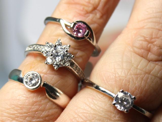 Unsere Ringe aus der Diamantseife