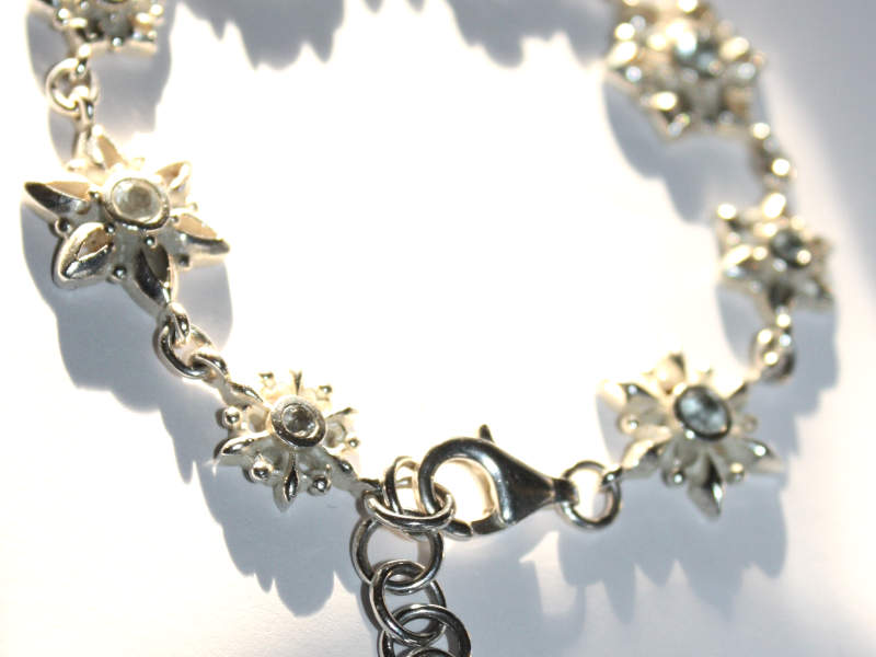 Heartbreaker Snowflake Armband Silber