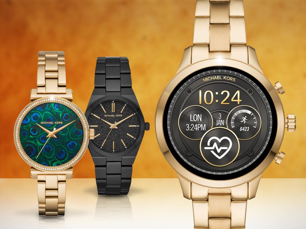 Elegante Armbanduhren von Michael Kors