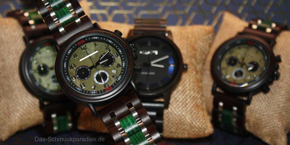 Armbanduhr aus Holz - gute Wahl oder Flop?